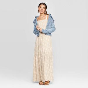 Square Neck Tiered Maxi Dress - Universal Thread